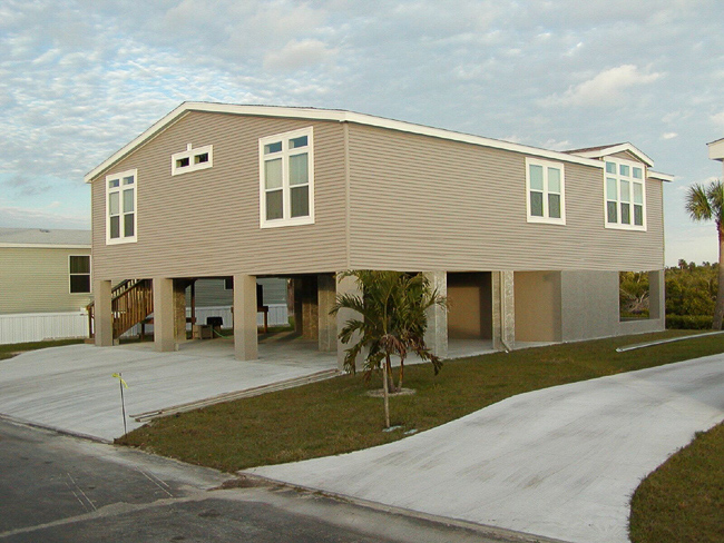Ocala business spotlight ocala custom homes ocala online for Modular stilt homes