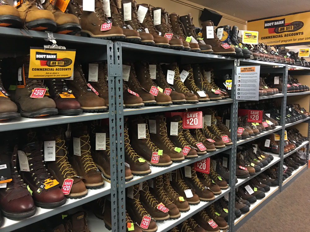 Find the latest styles in cowboy boots & hats, western wear, work boots and much more. Check out our huge selection from brands like Ariat, Cinch, Wolverine and more today!